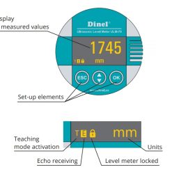 Khả năng hiển thị của ULM-70