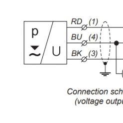 Sơ đồ đấu dây cảm biến đo mức thuỷ tĩnh HLM-25C