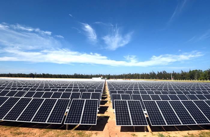 Điện năng lượng mặt trời tại Ninh Thuận