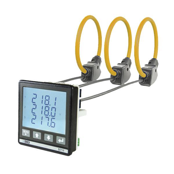 Đồng hồ đo dòng điện xoay chiều 3 pha Seneca
