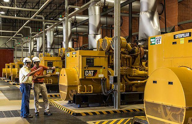 Hệ thống máy phát điện xoay chiều trong công nghiệp