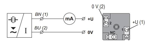 Tín hiệu ra 4-20mA khi lắp cảm biến siêu âm