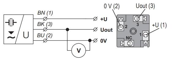Tín hiệu ra 0-10v khi lắp cảm biến siêu âm