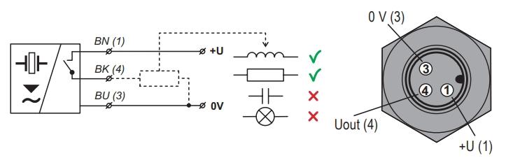 Lắp dây cảm biến siêu âm model -P