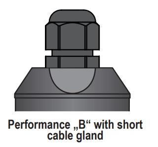 Lắp cảm biến siêu âm với cáp B