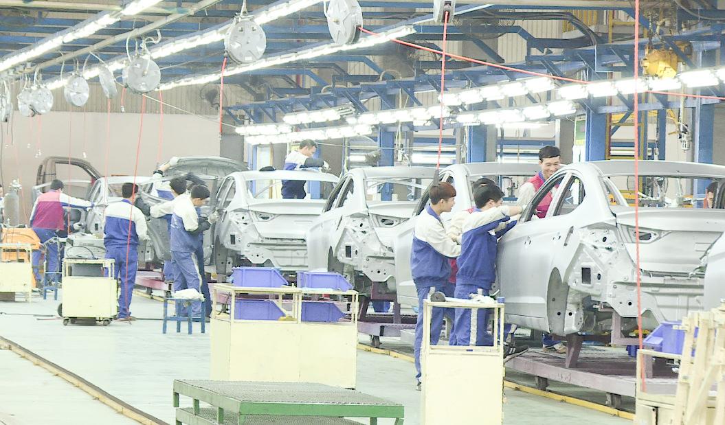 ứng dụng khí nén trong sản xuất ô tô