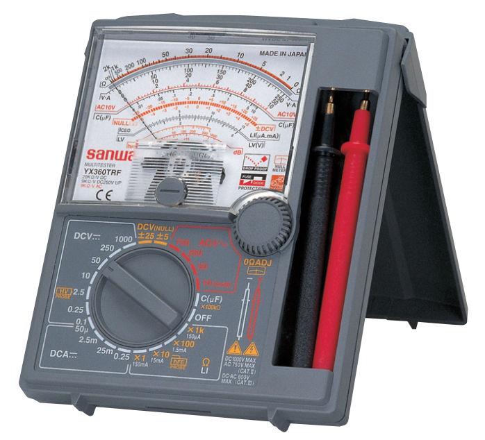 Đồng hồ VOM test cảm biến nhiệt độ máy nén khí