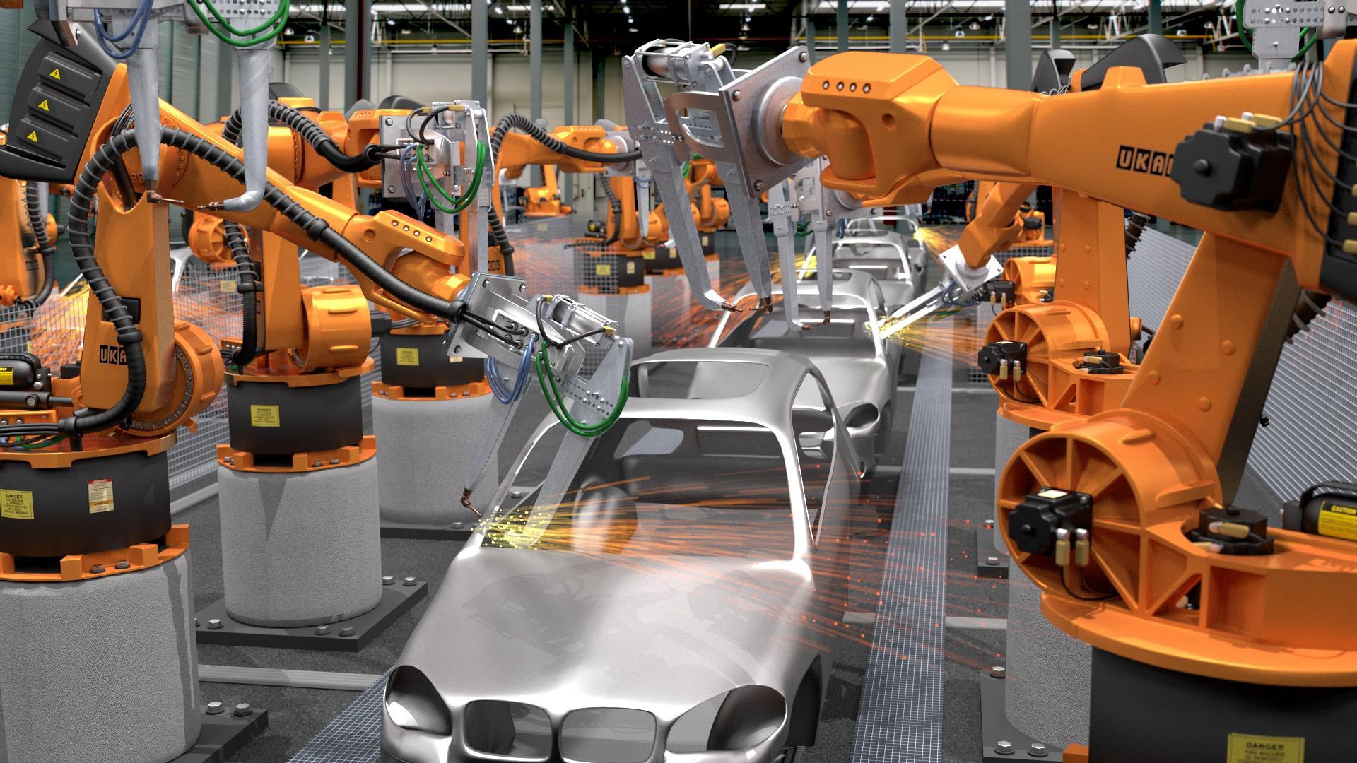 Robot tự động hoá
