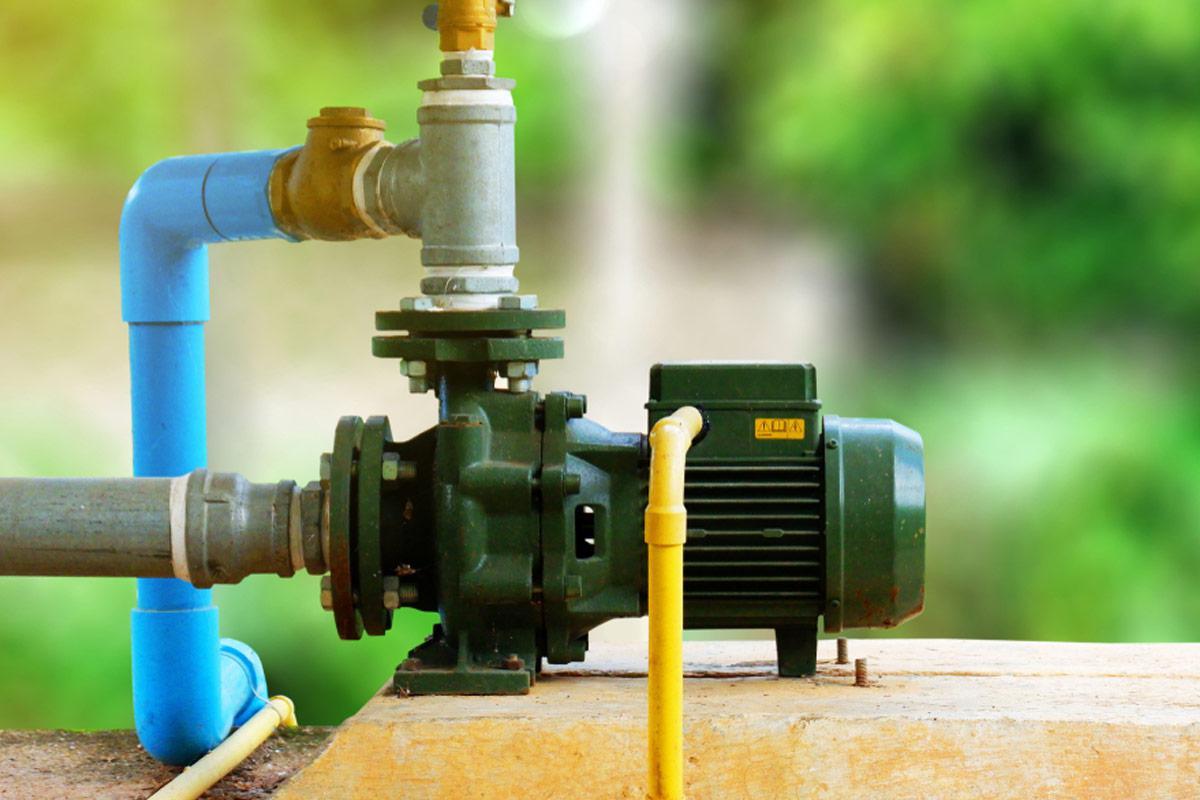 Hoạt động của công tắc áp suất nước