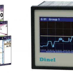 Bộ ghi dữ liệu nhiệt độ   analog 4-20mA, 0-10V   MGU-800