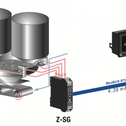 Bộ hiển thị loadcell - Truyền thông Modbus RTU