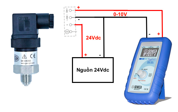 Cách kiểm tra cảm biến áp suất 0-10V