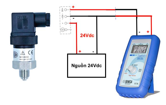 Cách kiểm tra cảm biến áp suất 4-20mA 3 dây