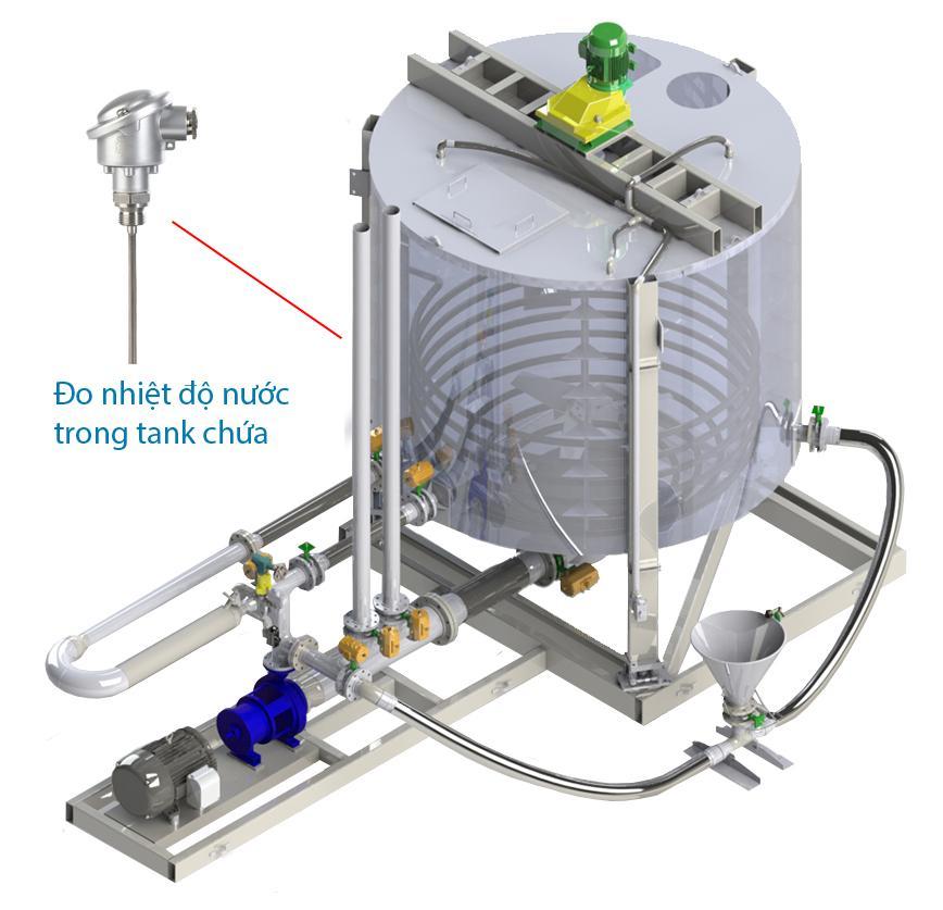Ứng dụng cảm biến nhiệt độ nước