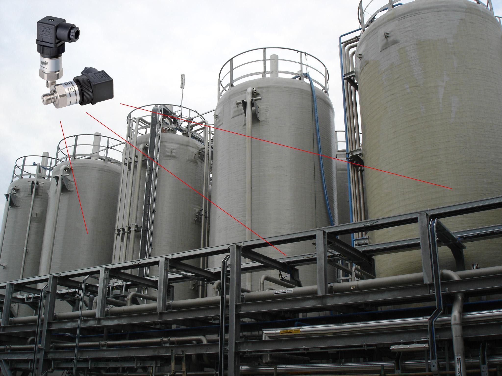 Ứng dụng cảm biến áp suất đo mức nước