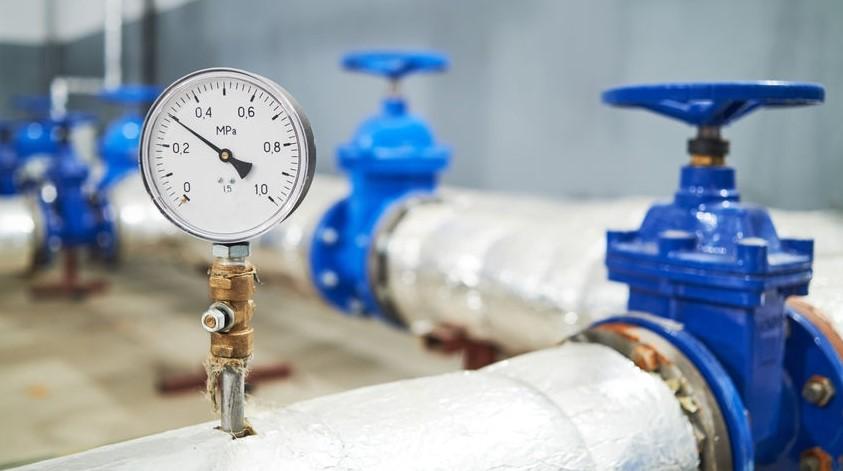Ứng dụng đồng hồ đo áp suất nước
