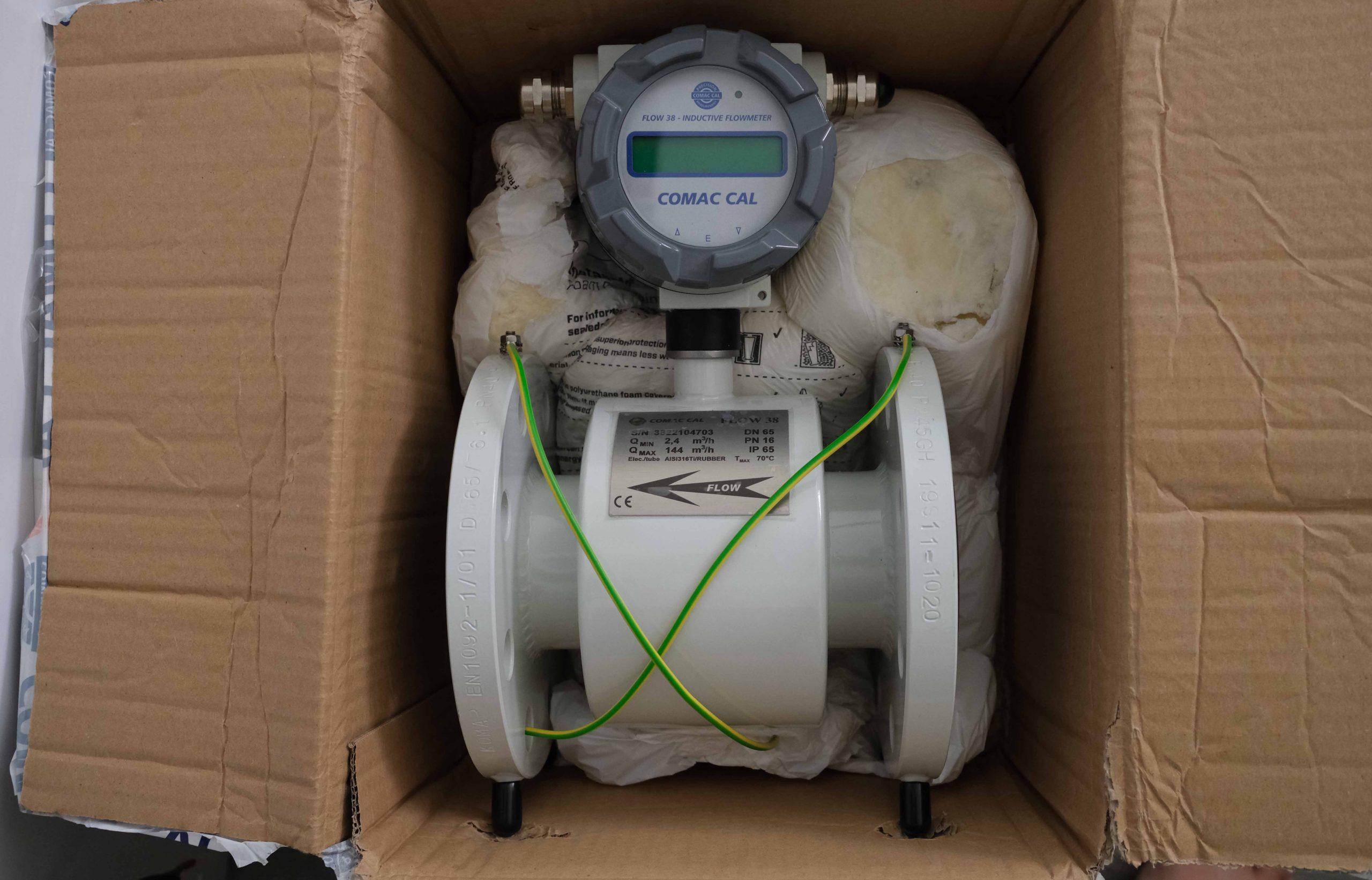 Đồng hồ đo lưu lượng nước thải điện tử Flow38