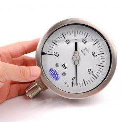 Cách đọc đồng hồ đo áp suất chân không