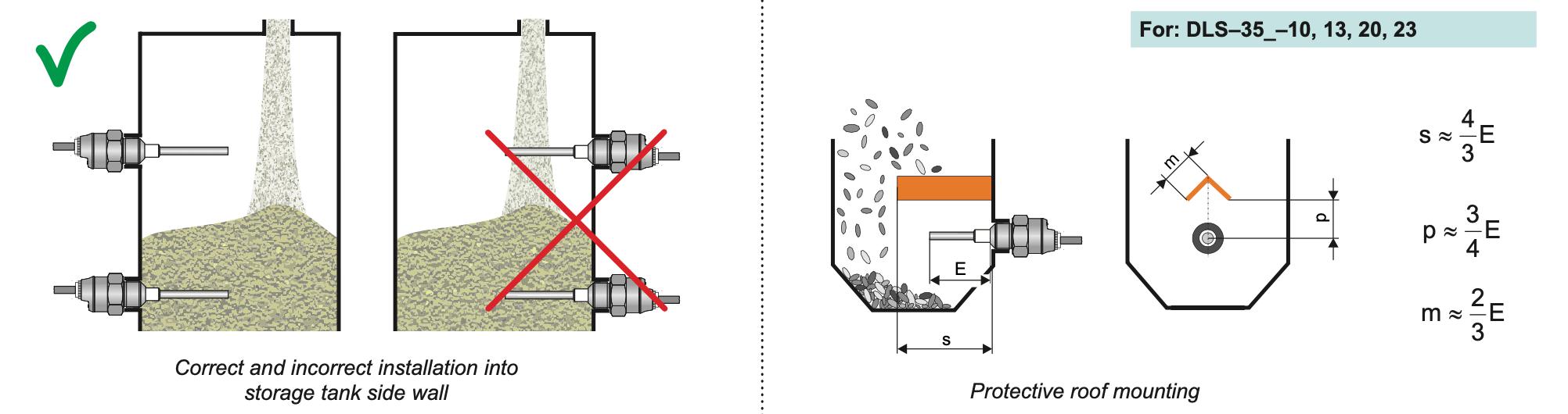 Cảm biến điện dung báo mức chất rắn