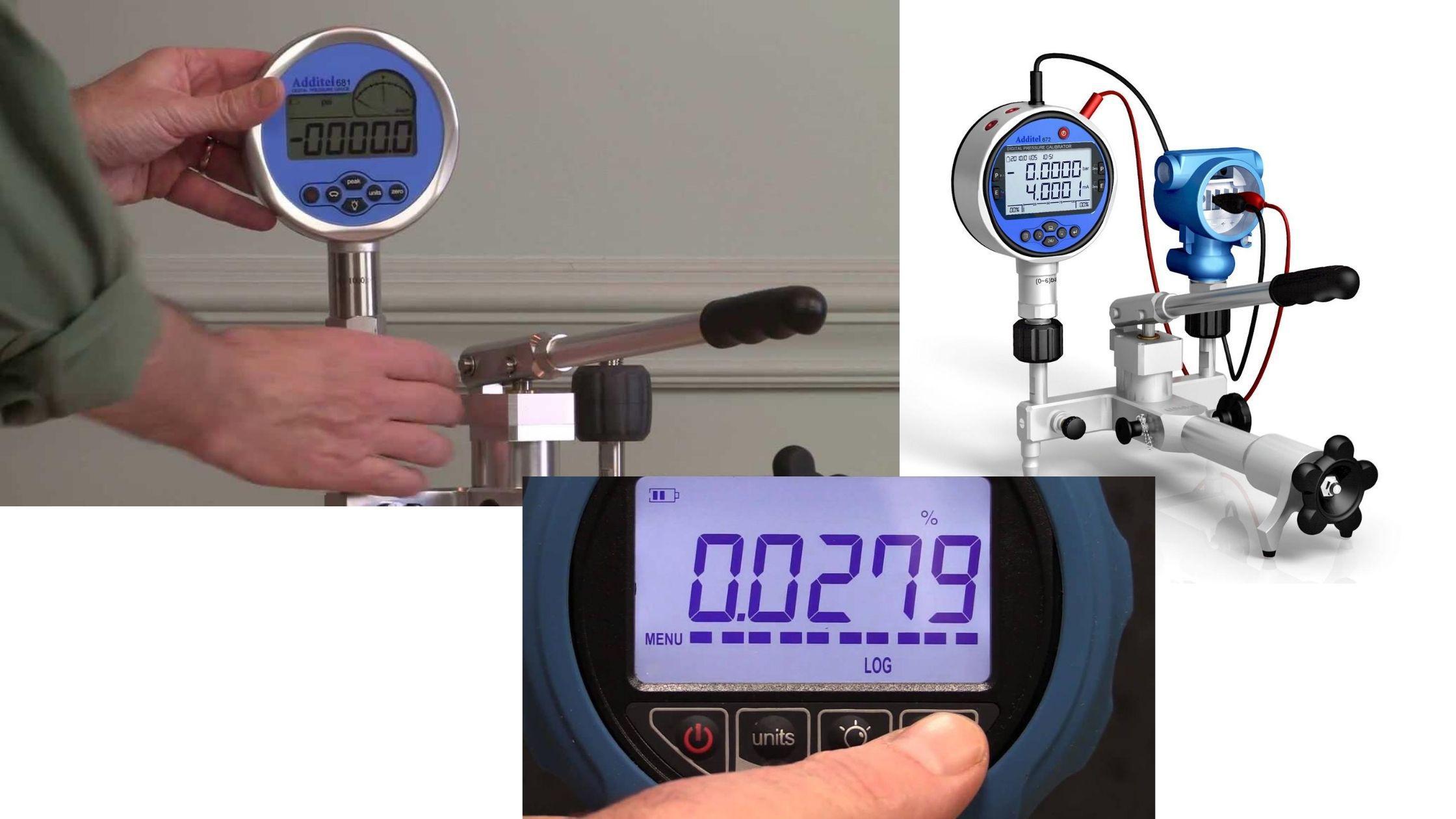 Ứng dụng đồng hồ đo áp suất điện tử