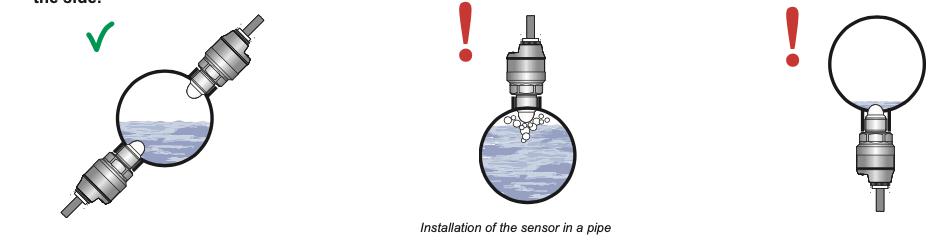 Cách lắp đặt cảm biến RFLS-35N bồn tròn