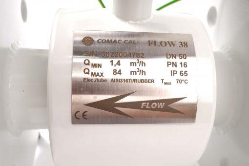 Thông số kỹ thuật đồng hồ đo lưu lượng điện tử Flow38