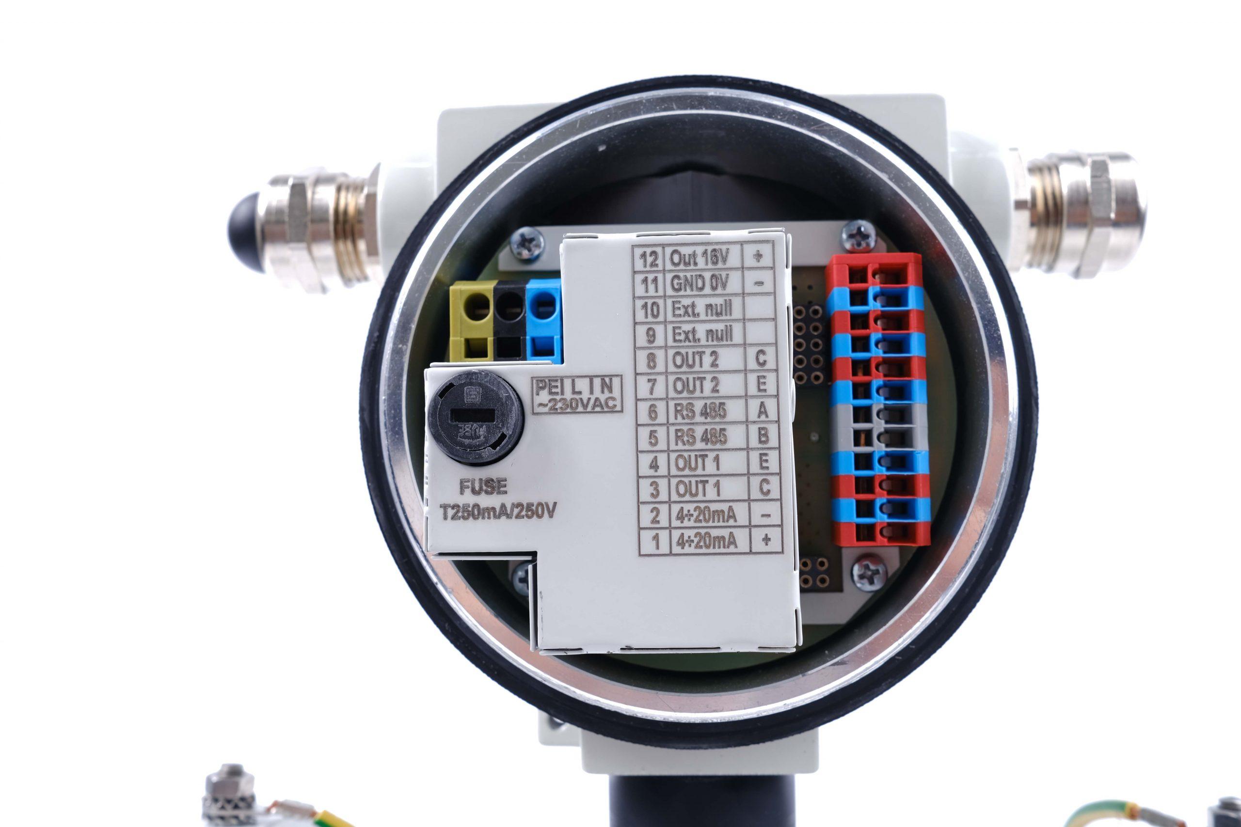 Tín hiệu ngõ ra đồng hồ đo lưu lượng nước DN50