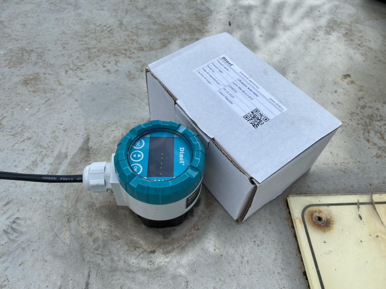 Lắp đặt cảm biến siêu âm ULM-70N