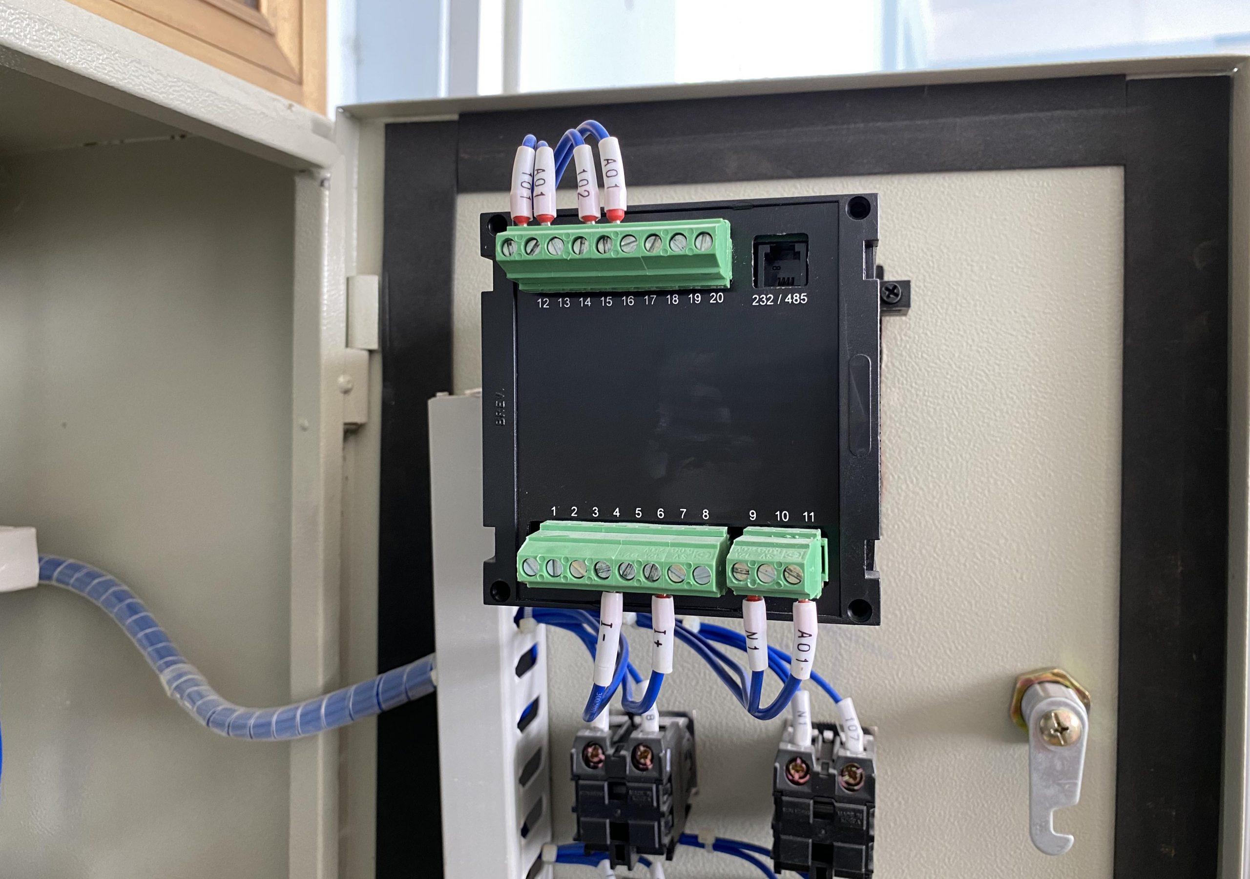 Kết nối cảm biến siêu âm ULM-70N với S301B