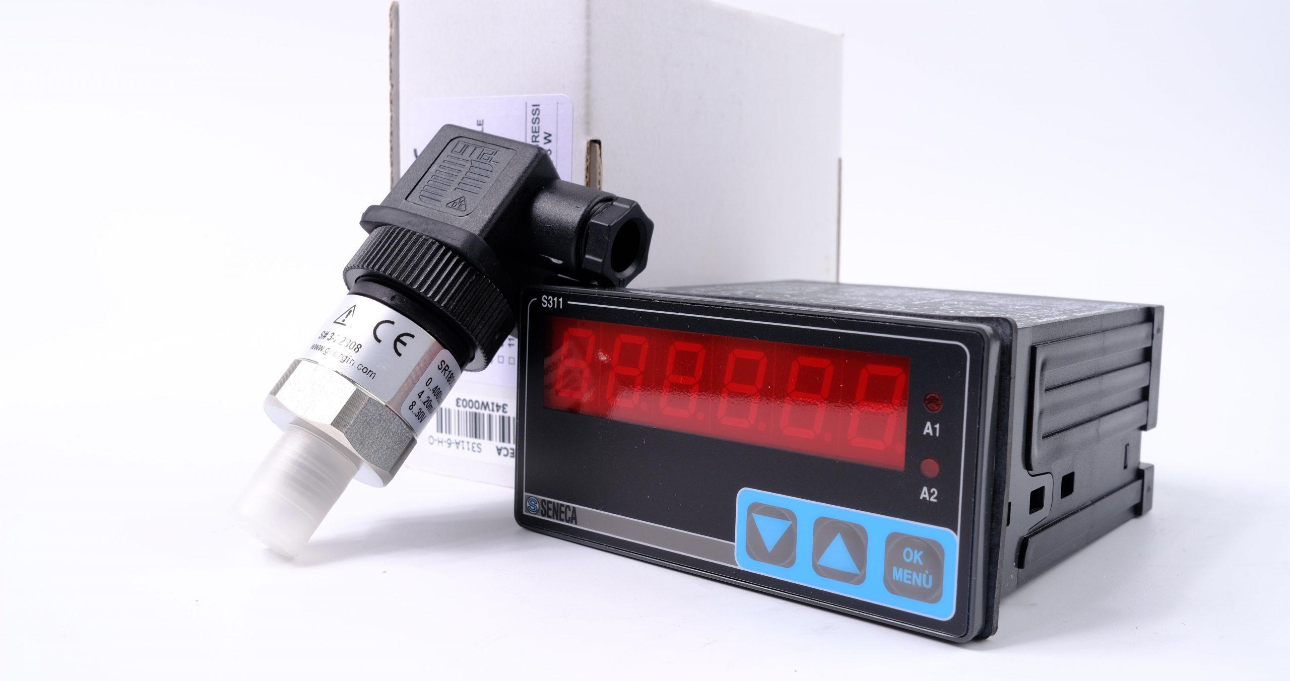 Cảm biến áp suất và bộ hiển thị áp suất