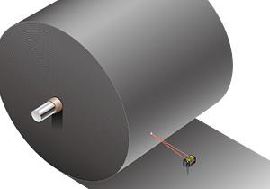 Đo độ dày của lớp màng PE bằng cảm biến hồng ngoại