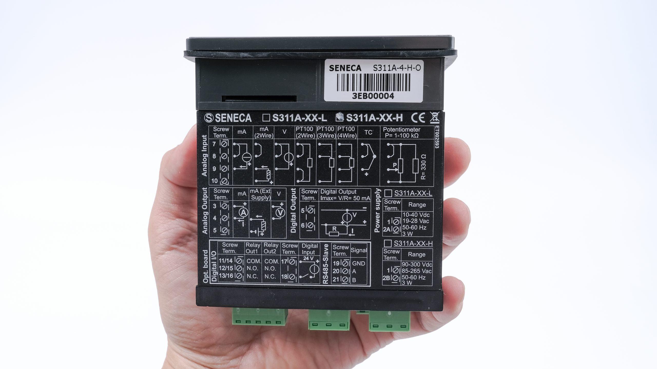 Hướng dẫn kết nối màn hình hiển thị S311A-4-H-O
