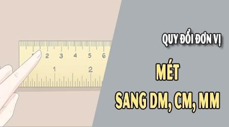 Quy đổi đơn vị đo khoảng cách