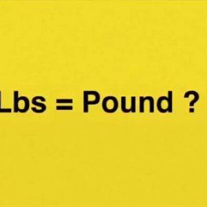 Pound là gì? Cách quy đổi pound sang kg như thế nào?