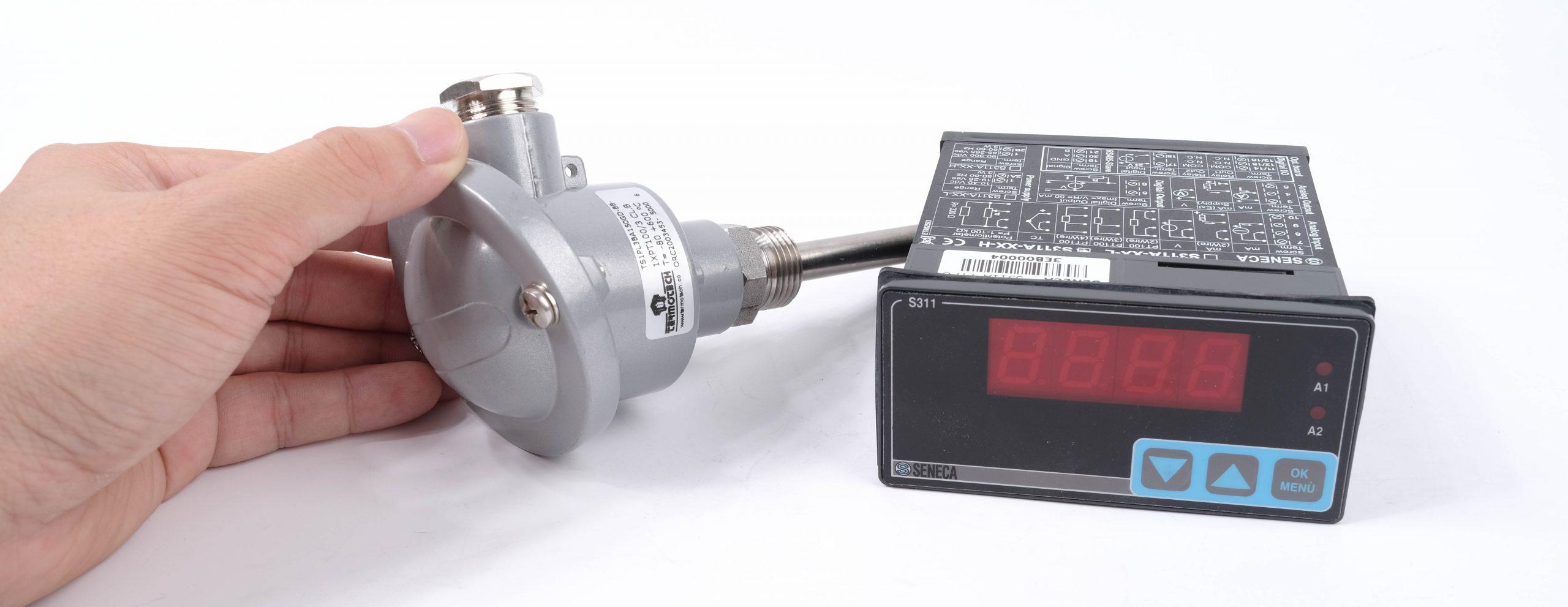 Ứng dụng bộ hiển thị nhiệt độ S311A