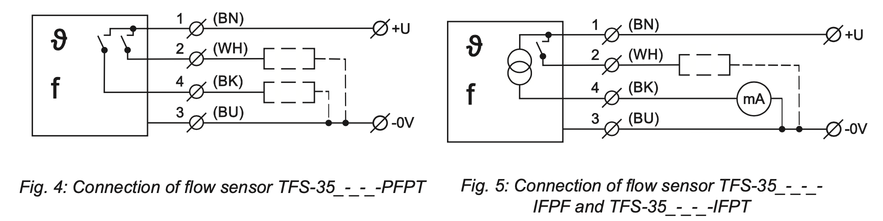 Cách kết nối điện TFS-35N-10