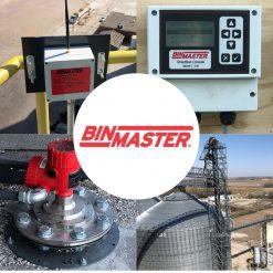 Cảm biến đo mức xi măng radar Binmaster