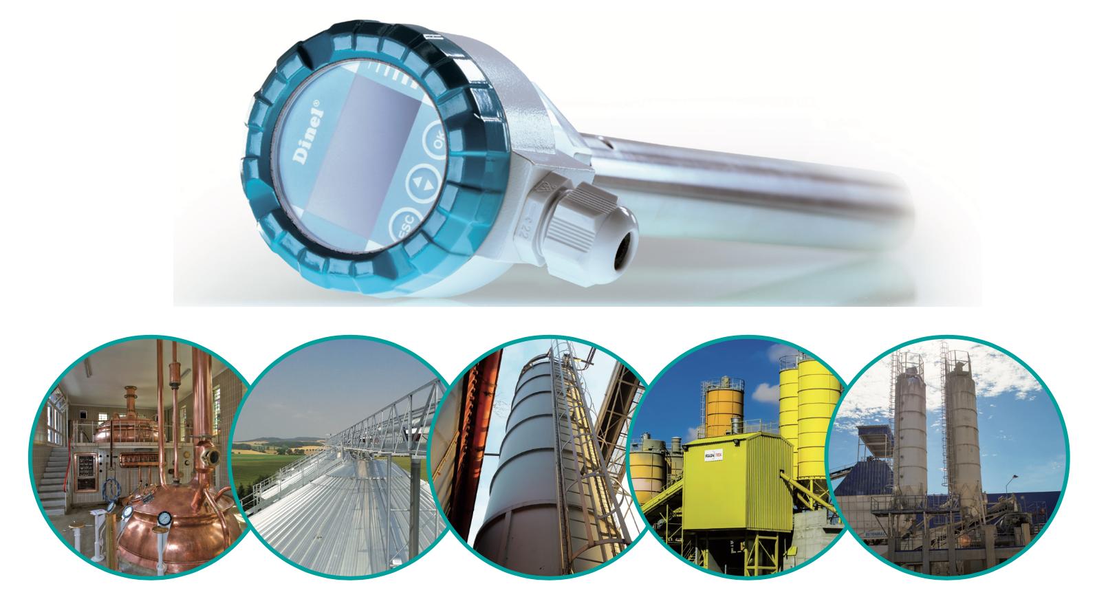 Cảm biến đo mức xăng dầu | Dinel - Czech