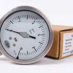 Mặt trước đồng hồ đo áp suất 0-10 bar M5000 - Georgin