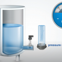 Ứng dụng cảm biến áp suất SR2R002A00 đo mức nước 0-2.5m