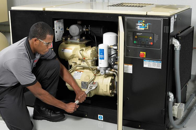 Bảo trì máy nén khí cẩn thận