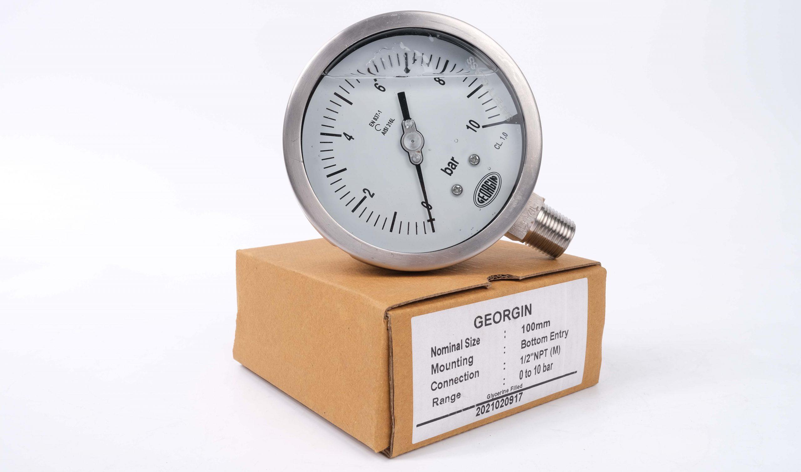 Khái niệm đồng hồ áp suất có dầu