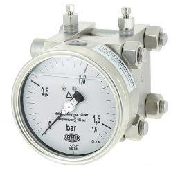 Đồng hồ đo chênh áp công nghiệp;